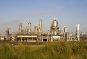 Refinery in the Port of Rotterdam, Europoort, Holland — Stock Photo
