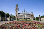 The International Court of Justice in the Hague — Stock Photo