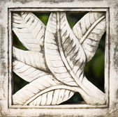 Traditional Balinese stone carving — Stock Photo