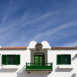 Stock Photo: Canary Islands house in Teide, GrCanaria