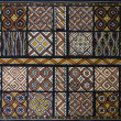 Toraja wood carving each panel symbolizes goodwill — Stock Photo #19387459