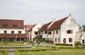 Fort (benteng) Rotterdam in Makassar, Sulawesi, Indonesia — Stock Photo