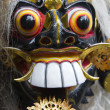 Balinese Rangda mask. An important demon in Balinese mythology — ストック写真