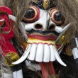 Balinese Rangda mask. An important demon in Balinese mythology — Foto de Stock