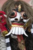 Maska rangda balijski. ważne demon w mitologii balijski — Zdjęcie stockowe