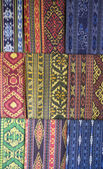 Traditional textile of Lombok, Indonesia — Stock Photo
