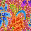 Detail of a batik design from Indonesia — Stock Photo #19458721