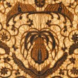 Detail of a batik design from Indonesia — Stock Photo #19458961