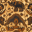 Detail of a batik design from Indonesia — Stock Photo #19459141
