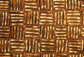 Detalle de un diseño de batik de indonesia — Foto de Stock