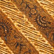 Detail of a batik design from Indonesia — Stock Photo #19460111