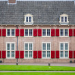 Traditional Dutch building, part of the Loo Palace in Apeldoorn, the Netherlands — Stock Photo