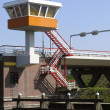 Stock Photo: Bridge keeper tower, Holland