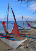 Philippine fishing boat, Puerto Galera — Stock Photo