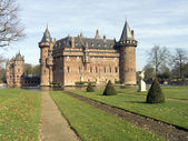 Castle Haarzuilen, Zuilen, Holland — Foto Stock