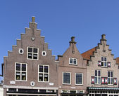 Dutch historic facade — Stock Photo