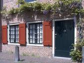 Dutch historic facade in Amersfoort, the Netherlands — Stock Photo