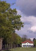 Evde leusden, hollanda — Stok fotoğraf