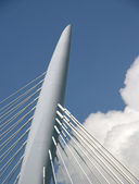 Suspension bridge, Utrecht, Holland — Stock Photo