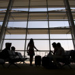 Stock Photo: Airport terminal, Istanbul, Turkey