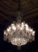 żyrandol w dolmabahce palace, istanbul, turcja — Zdjęcie stockowe