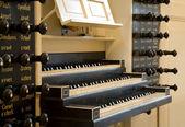 Church organ, St. Jorischurch, Amersfoort — Stock Photo