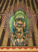 Temple dragon,Bali,Indonesia — Stock Photo
