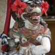 Stock Photo: Balinese statue guarding entrance