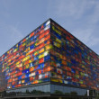 Museum of sound and vision in the mediapark of hilversum, Holland — Stock Photo