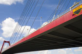 Willemsbridge in Rotterdam,Holland — Stock Photo