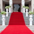 Red carpet - Foto Stock