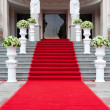 Red carpet - Stockfoto