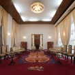 Stock Photo: National reception room in Reunification Palace in Ho Chi Minh City (Saigon), Vietnam