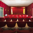 Interior of the theatre in the Reunification Palace in Ho Chi Minh City (Saigon), Vietnam - Stock Photo