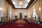National reception room in the Reunification Palace in Ho Chi Minh City (Saigon), Vietnam — Stock Photo