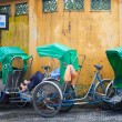 Cyclo's in Hoi An, Vietnam — Stock Photo