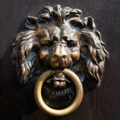 Antique lion's head — Stock Photo