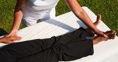 Polarity massage — Stock Photo