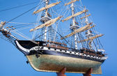 Model of the historic ship, USS Constitution — Stock Photo