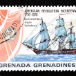 Stamp of Grenada — Stock Photo