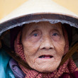 Stock Photo: Vietnamese old woman