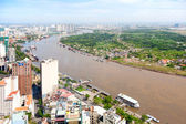 View of Ho Chi Minh City — Stock Photo
