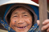 Vietnamese old woman — Stock Photo