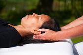 Polarity massage — Stock Photo
