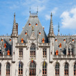 Provincial court in Bruges, Belgiu — Stock Photo