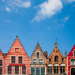 Houses on market square in Bruge — Stock Photo #26102447