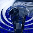 Stock Photo: Glass dome of Reichstag in Berlin