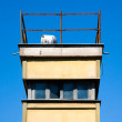 Guard tower at the Berlin wall — Stock Photo