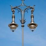 Antique lamp post — Stock Photo