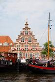 Stadstimmerwerf Galgewater in Leiden — Stock Photo